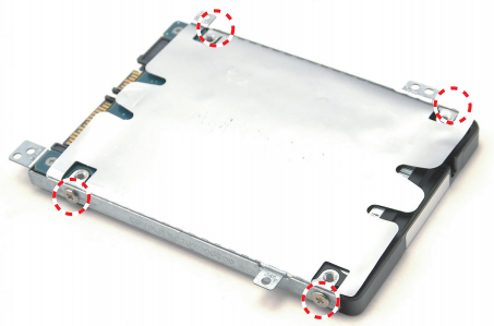 Hard drive installation instructions for Predator Helios 300