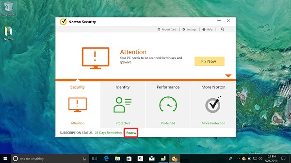 norton antivirus free trial for windows 8.1