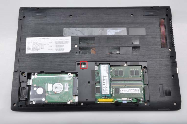 Aspire E15 Will Not Operate On Battery Power If The Memory Or Hard Drive Access Doors Are Not Installed Correctly